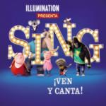 Sing - Ven y Canta 2D Poster